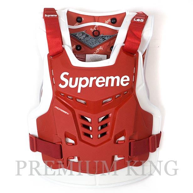 国内正規品 2018SS Supreme Fox Racing Proframe Roost Deflector Vest Red 新品未使用品 [ シュプリーム フォックスレーシング プロフレーム ルースト デフレクター ベスト レッド ]