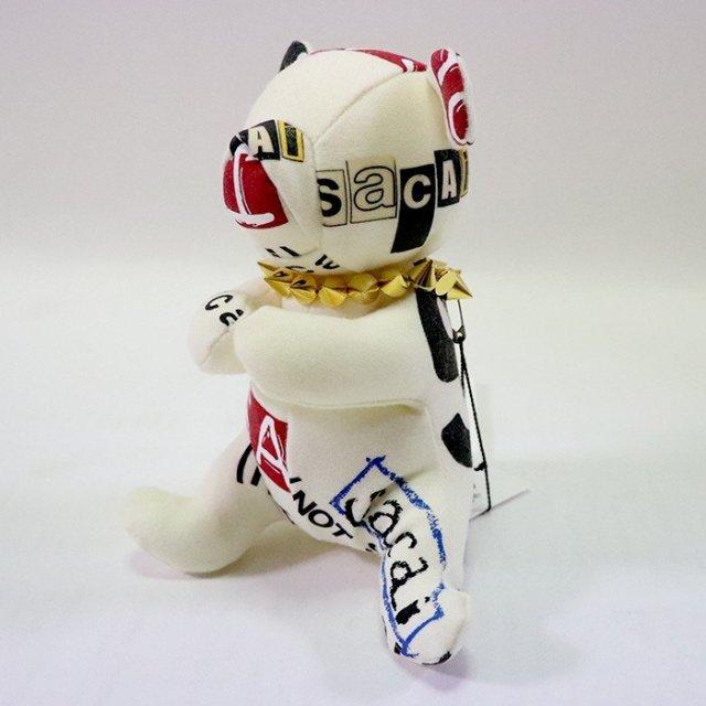 国内正規品 2019SS Bonjour sacai sacai × Fragment Design Teddy Bear Small White-Gold 19-02036M 新品未使用品 [ サカイ フラグメントデザイン ティディベアー スモール ホワイト ゴールド 白 金 ボンジュールサカイ 藤原ヒロシ ]