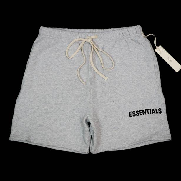 国内正規品 FOG Fear Of God Essentials Graphic Sweat Shorts Gray 新品未使用品 [ フィアオブゴッド エッセンシャルズ スウェット ショーツ グレー ]