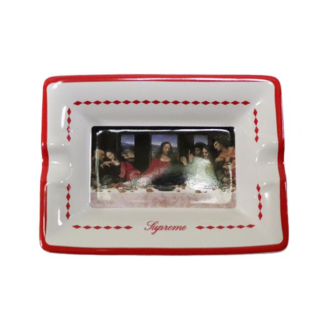 国内正規品 2012AW Supreme Last Supper Ceramic Ashtray Red 新品未使用品 [ シュプリーム 最後の晩餐 セラミック アシュトレイ 灰皿 レッド 赤 ]