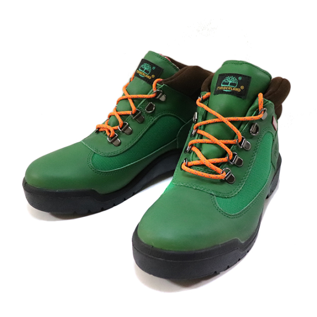 国内正規品 2014AW Supreme × Timberland Field Boot Green 新品未使用品 [ シュプリーム ティンバーランド フィールドブーツ グリーン 緑 ]