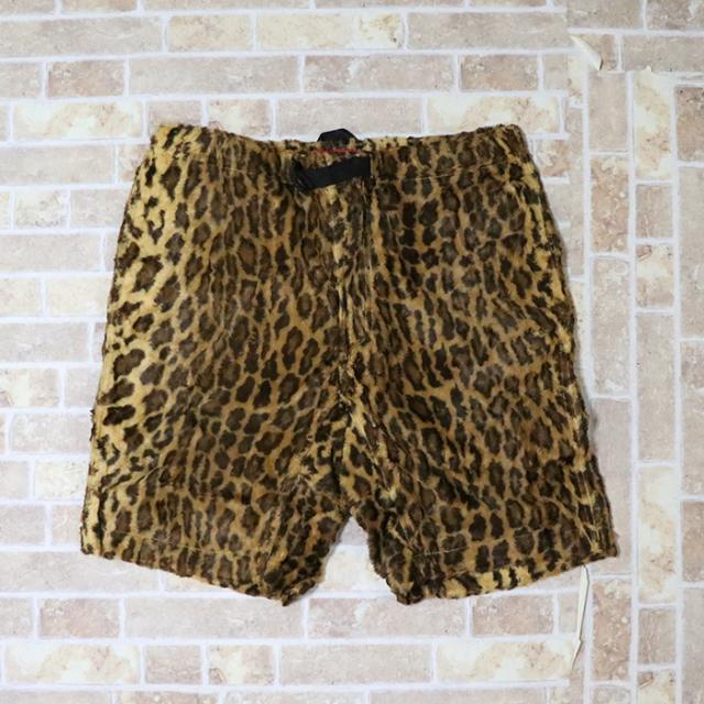 国内正規品 2014SS Supreme Fur Belted Short Leopard 新品未使用品 [ シュプリーム ファー ベルト ショーツ レオパード ]