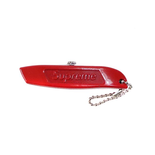 国内正規品 2015AW Supreme Utility Knife Keychain Red 新品未使用品 [ シュプリーム ユーティリティ ナイフ キーチェーン レッド 赤 ]