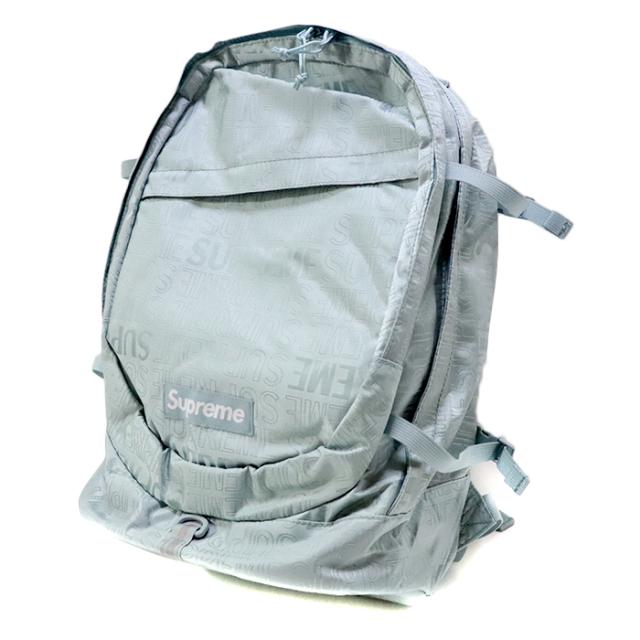国内正規品 2019SS Supreme Backpack Light Blue 新品未使用品 [シュプリーム バックパック リュック ライトブルー 水色 青 ]