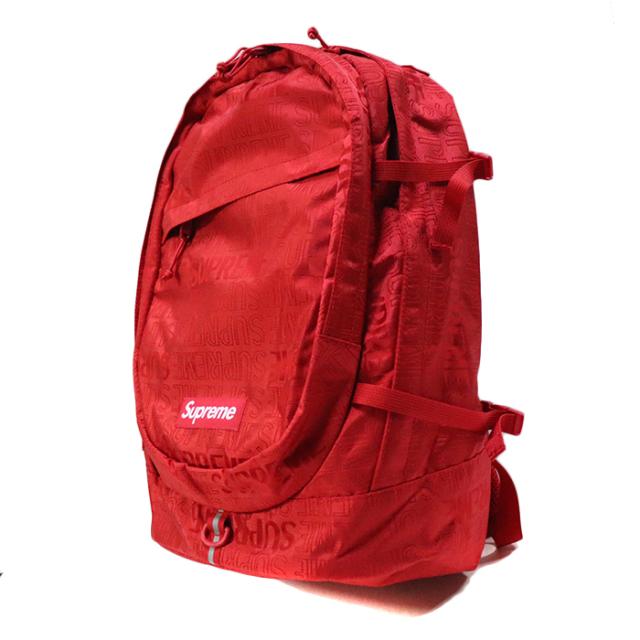 国内正規品 2019SS Supreme Backpack Red 新品未使用品 [シュプリーム バックパック リュック レッド 赤 ]