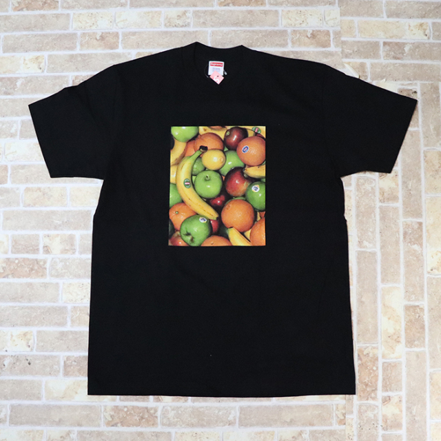 国内正規品 2019SS Supreme Fruit Tee Black 新品未使用品 [ シュプリーム フルーツ Tシャツ ブラック 黒 ]