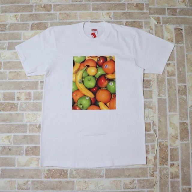 国内正規品 2019SS Supreme Fruit Tee White 新品未使用品 [ シュプリーム フルーツ Tシャツ ホワイト 白 ]