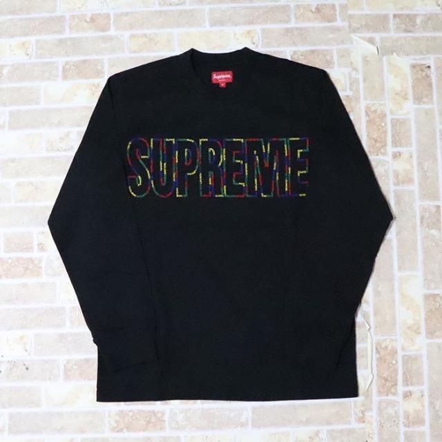 国内正規品 2019SS Supreme International L/S Tee Black 新品未使用品 [シュプリーム インターナショナル Tシャツ ブラック 長袖 黒 ]