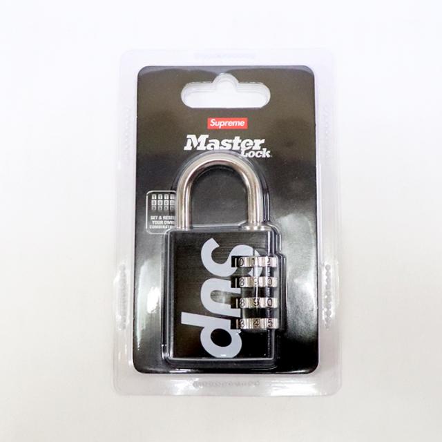 国内正規品 2019SS Supreme × Master Lock Numeric Combination Lock Black 新品未使用品 [ シュプリーム マスターロック ニューメリック コンビネーション ロック 鍵 ブラック 黒 ]