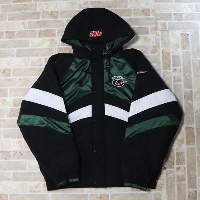 国内正規品 2019SS Supreme × NIKE Hooded Sport Jacket Green 新品未使用品 [ シュプリーム ナイキ フーデッド スポーツ ジャケット グリーン 緑 ]
