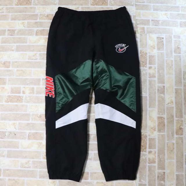 国内正規品 2019SS Supreme × NIKE Warm Up Pants Green 新品未使用品 [ シュプリーム ナイキ ウォームアップ パンツ グリーン 緑 ]