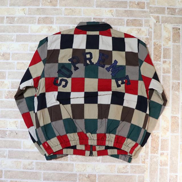 国内正規品 2019SS Supreme Patchwork Harrington Jacket Multi 新品未使用品 [ シュプリーム パッチワーク ハリントン ジャケット マルチ ]