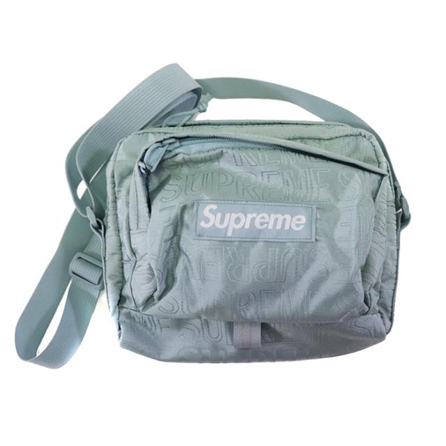 国内正規品 2019SS Supreme Shoulder Bag Light Blue 新品未使用品 [シュプリーム ショルダーバッグ ライトブルー ]