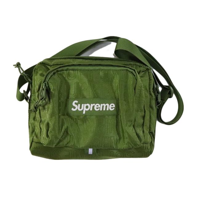 国内正規品 2019SS Supreme Shoulder Bag Olive 新品未使用品 [シュプリーム ショルダーバッグ オリーブ 緑 ]