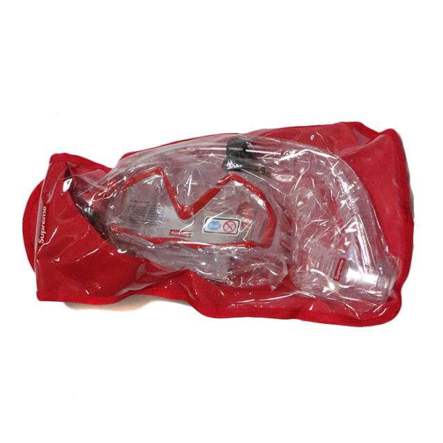 国内正規品 2019SS Supreme x Cressi Snorkel Set Red 新品未使用品 [ シュプリーム クレッシー シュノーケル セット レッド 赤 ]