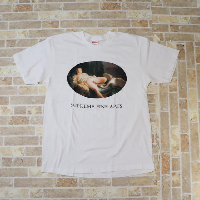 国内正規品 2019SS Supreme Leda And The Swan Tee White 新品未使用品 [ シュプリーム レダ アンド ザ スワン Tシャツ ホワイト 白 ]