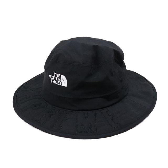国内正規品 2019SS Supreme × The North Face Arc Logo Horizon Breeze Hat Black 新品未使用品 [シュプリーム ノースフェイス アーク ロゴ ホライゾンブリーズハット アーチ 黒 ]