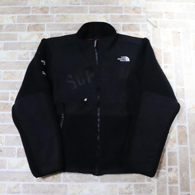 国内正規品 2019SS Supreme × The North Face Arc Logo Denali Fleece Jacket Black 新品未使用品 [シュプリーム ノースフェイス アーク ロゴ デナリ フリース ジャケット アーチ 黒 ]