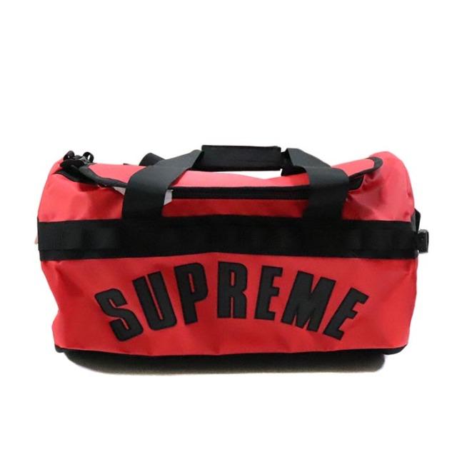 国内正規品 2019SS Supreme × The North Face Arc Logo Base Camp Duffle Bag Red 新品未使用品 [シュプリーム ノースフェイス アーク ロゴ ベースキャンプ ダッフルバッグ アーチ レッド 赤 ]