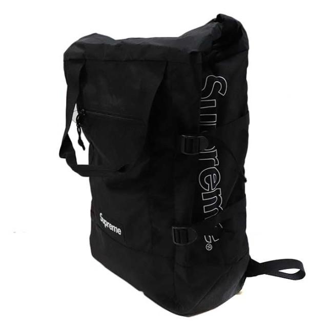 国内正規品 2019SS Supreme Tote Backpack Black 新品未使用品 [シュプリーム トート バックパック リュック ブラック 黒 ]