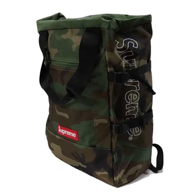 国内正規品 2019SS Supreme Tote Backpack Camo 新品未使用品 [シュプリーム トート バックパック リュック カモ 迷彩 ]