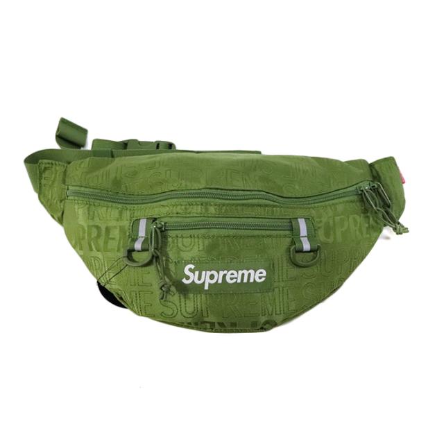 国内正規品 2019SS Supreme Waist Bag Olive 新品未使用品 [シュプリーム ウエストバッグ オリーブ 緑 ]