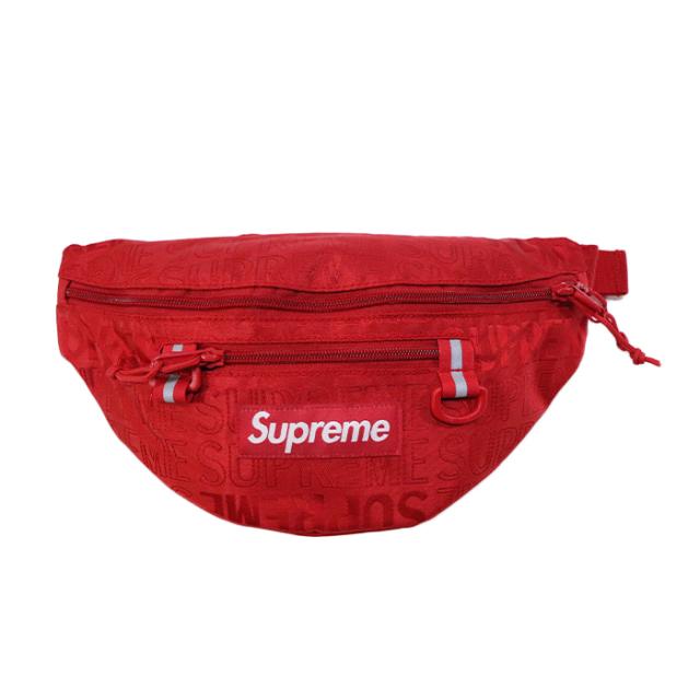 国内正規品 2019SS Supreme Waist Bag Red 新品未使用品 [シュプリーム ウエストバッグ レッド 赤 ]