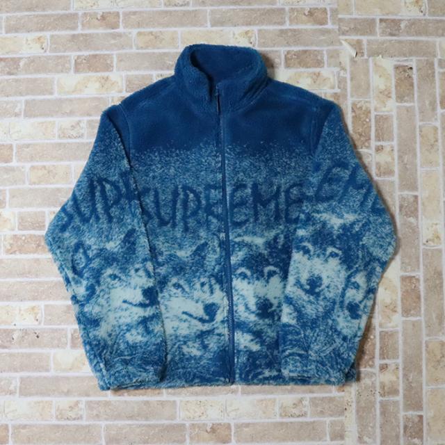 国内正規品 2019SS Supreme Wolf Fleece Jacket Dark Teal 新品未使用品 [ シュプリーム ウルフ フリース ジャケット ダークティール 青 ]