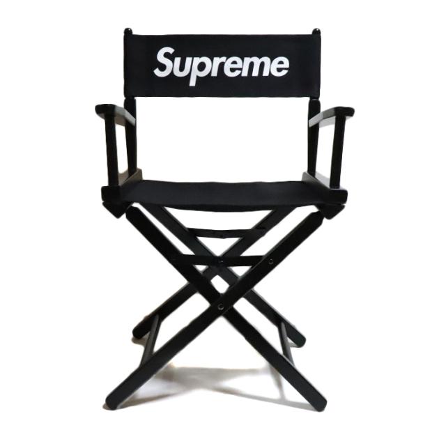 国内正規品 2019SS Supreme x Gold Medal Director's Chair Black 新品未使用品 [ シュプリーム ゴールドメダル ディレクターズ チェア ブラック 黒 ]