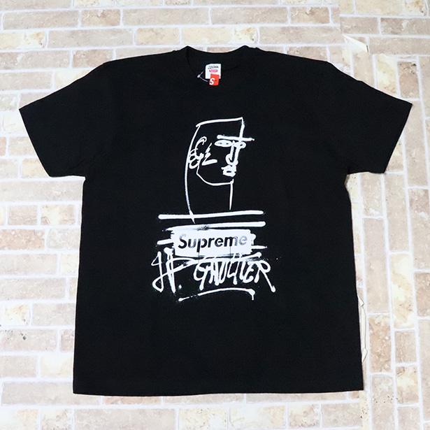 国内正規品 2019SS Supreme × Jean Paul Gaultier Jean Paul Gaultier Tee Black 新品未使用品 [ シュプリーム ジャンポールゴルチェ Tシャツ ブラック 黒 ]