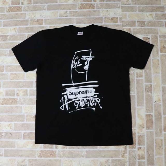 国内正規品 2019SS Supreme × Jean Paul Gaultier Jean Paul Gaultier Tee Black 新品同様品 [ シュプリーム ジャンポールゴルチェ Tシャツ ブラック 黒 ]