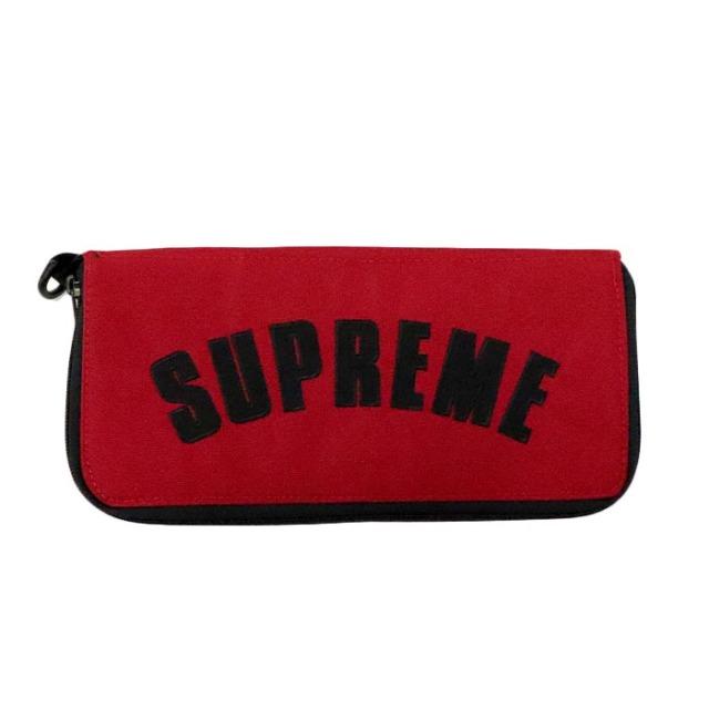 国内正規品 2019SS Supreme × The North Face Arc Logo Organizer Red 新品未使用品 [シュプリーム ノースフェイス アーク ロゴ オーガナイザー アーチ レッド 赤 ]