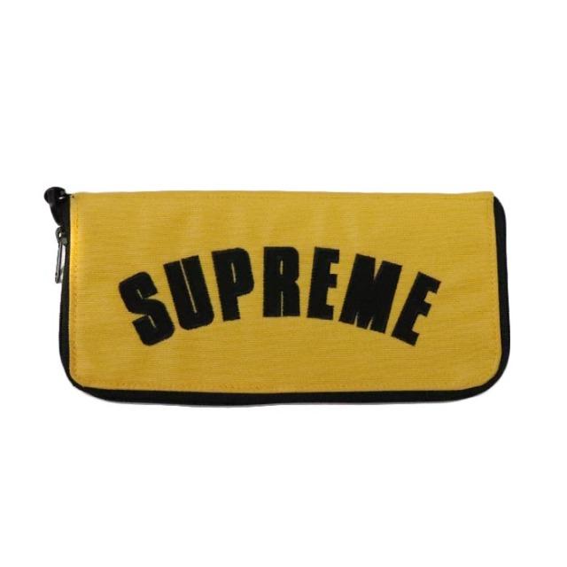 国内正規品 2019SS Supreme × The North Face Arc Logo Organizer Yellow 新品未使用品 [シュプリーム ノースフェイス アーク ロゴ オーガナイザー アーチ イエロー 黄 ]