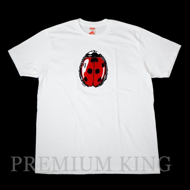 国内正規品 2018SS Supreme Ladybug Tee White 新品未使用品 [ シュプリーム レディバグ てんとう虫 Tシャツ ホワイト 白 ]