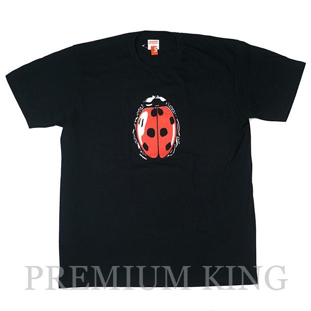 国内正規品 2018SS Supreme Ladybug Tee Black 新品未使用品 [ シュプリーム レディバグ てんとう虫 Tシャツ ブラック 黒 ]