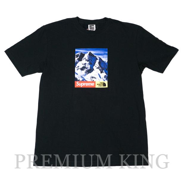 国内正規品 2017AW SUPREME × THE NORTH FACE Mountain T-Shirt BLACK 新品未使用品 [ シュプリーム ノースフェイス マウンテン Tシャツ ブラック 黒 ]