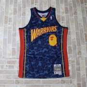 9eb5fcd2 国内正規品 2018AW BAPE A BATHING APE WARRIORS ABC BASKETBALL SWINGMAN JERSEY  TANKTOP NAVY 新品