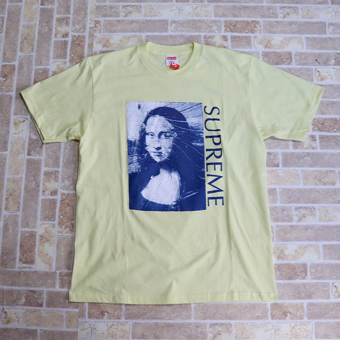 3dd26fd062b5 国内正規品 2018SS Supreme Mona Lisa Tee Yellow 新品未使用品   シュプリーム モナリザ
