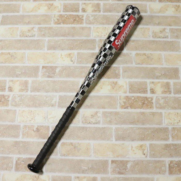 正規品 2014SS Supreme × Mizuno Aluminum Youth Baseball Bat Silver 新品未使用品 [ シュプリーム ミズノ アルミニウム ユース ベースボール バット シルバー ]