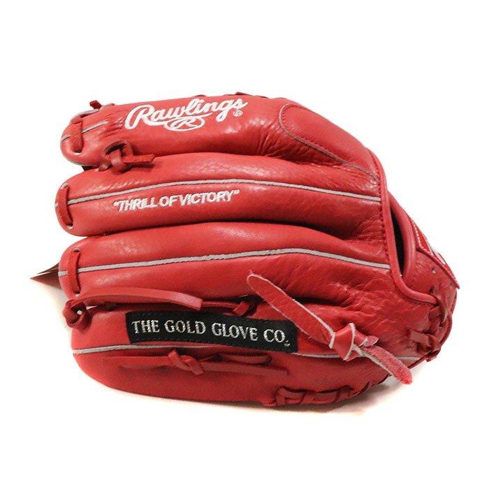 正規品 2012SS Suprem × Rawlings Gloves Red 新品未使用品 [ シュプリーム ローリング ベースボール グローブ レッド 赤 ]