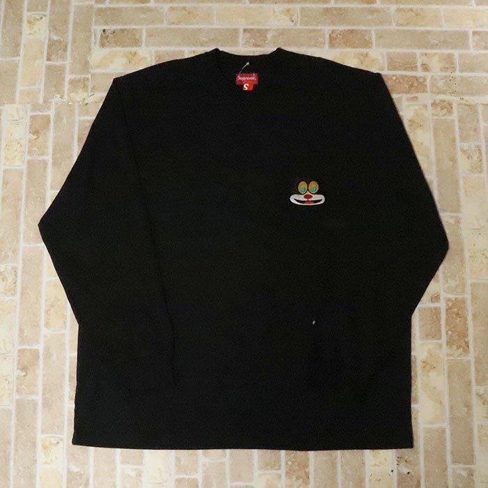 国内正規品 2019AW Supreme Cat L/S Pocket Tee Black 新品未使用品 [ シュプリーム キャット ロングスリーブ ポケット Tシャツ ブラック 黒 ]