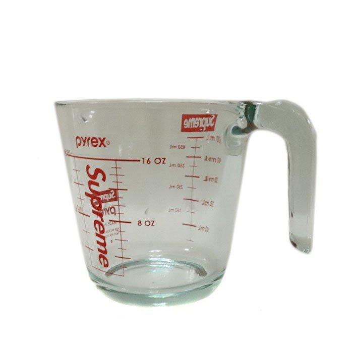 国内正規品 2019AW Supreme Pyrex 2-Cup Measuring Cup Clear 新品未使用品 [シュプリーム パイレックス メージャーリング カップ 計量 クリア ]