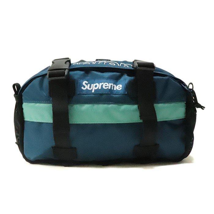 国内正規品 2019AW Supreme Waist Bag Teal 新品未使用品 [シュプリーム ウエストバッグ ティール 青 ]