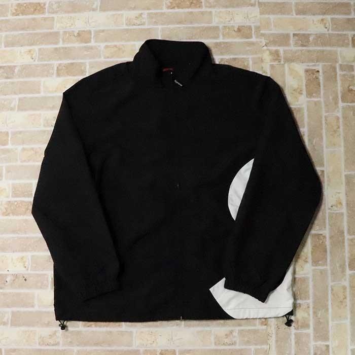 国内正規品 2019SS Supreme S Logo Track Jacket Black 新品未使用品 [ シュプリーム ロゴ トラック ジャケット ブラック 黒 ]