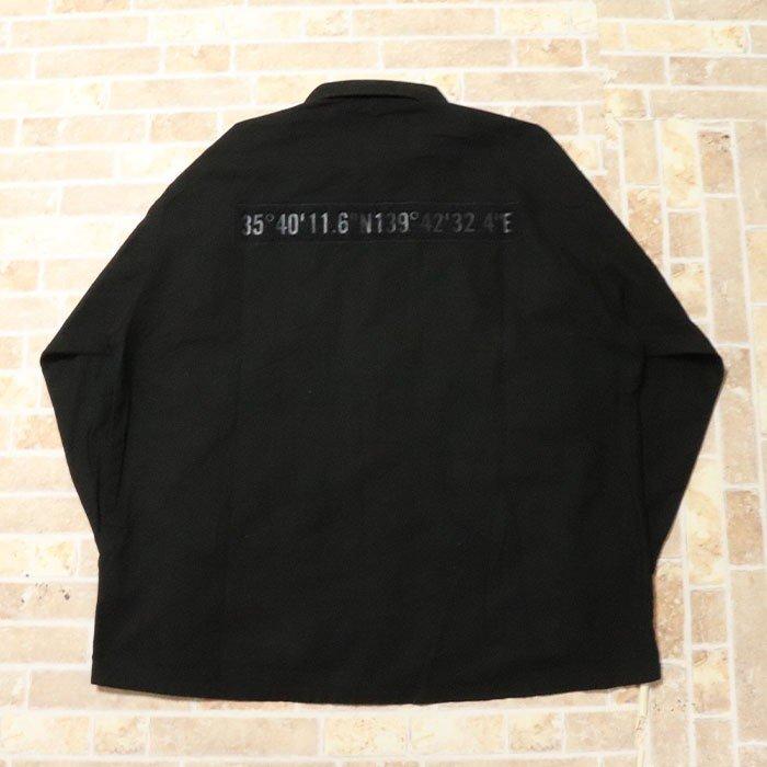国内正規品 2019AW WTAPS MODULAR LS 01 SHIRT RIPSTOP BLACK 新品未使用品 [ ダブルタップス モジュラー シャツ リップストップ ブラック]