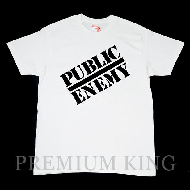 62c86eb8b09e 国内正規品 2018SS Supreme/Undercover/Public Enemy Public Enemy Tee White 新品未