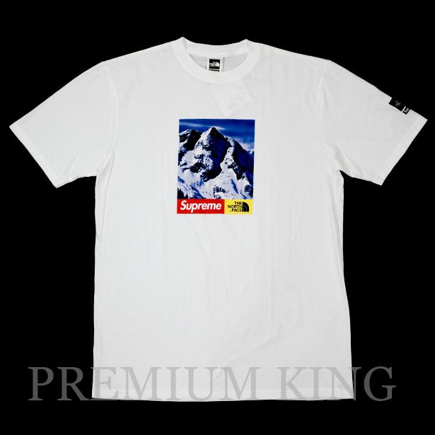 国内正規品 2017AW SUPREME × THE NORTH FACE Mountain T-Shirt WHITE 新品未使用品 [ シュプリーム ノースフェイス マウンテン Tシャツ ホワイト 白]