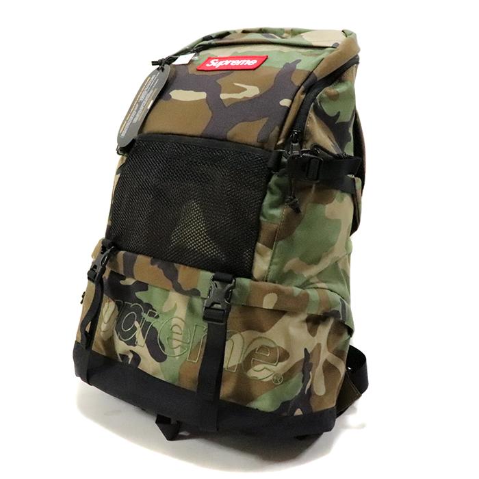 国内正規品 2015AW Supreme Contour Backpack Woodland Camo 新品未使用品 [ シュプリーム コンツアー バックパック カモ 迷彩 ]