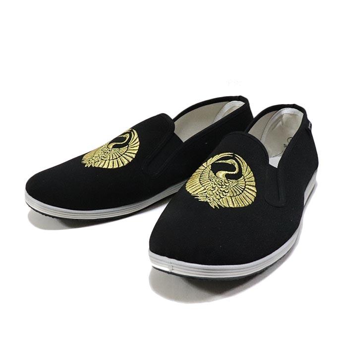 国内正規品 2016SS Supreme × Sasquatchfabrix. Crane Slip On Shoes Black 新品未使用品 [ シュプリーム サスクワッチファブリックス クレーン スリッポン シューズ ブラック 黒 ]