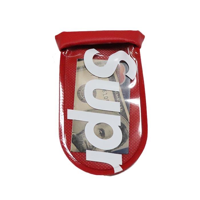 国内正規品 2018SS Supreme SealLine Sea Pouch Small Red 新品同様品 [ シュプリーム シールライン シー ポーチ スモール レッド 赤 ]